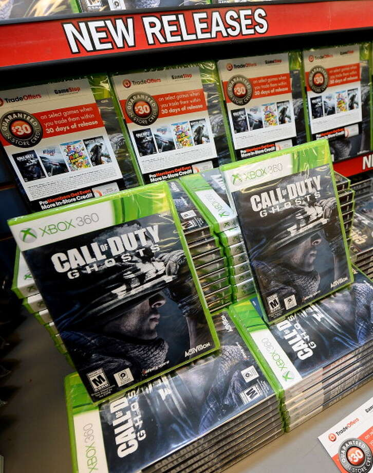 You may also find great deals on video games. Photo: Ethan Miller, Getty Images / 2013 Getty Images
