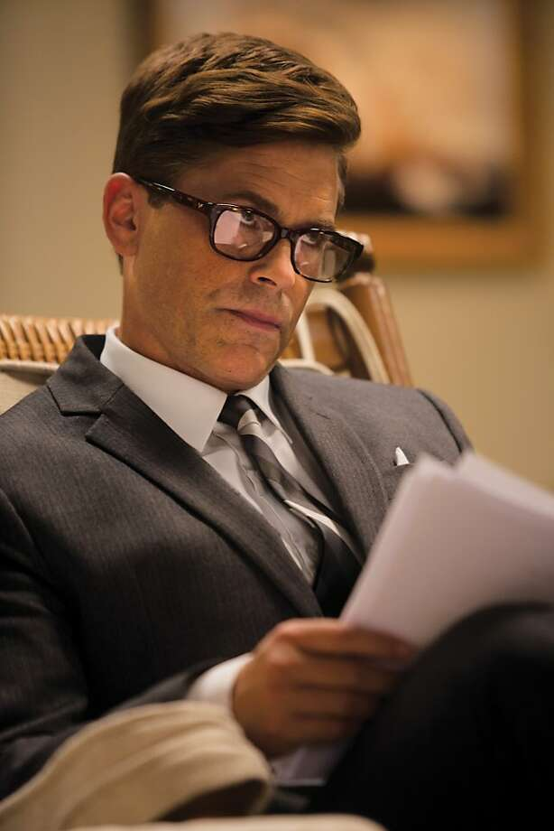 Rob Lowe as President John F. Kennedy on the set Killing Kennedy.  â?¨ Photo: Kent Eanes, National Geographic Channel