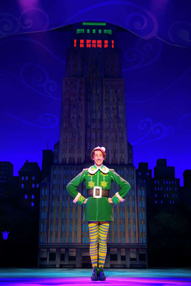 "Matt Kopec is playing the title role in the national tour of ""Elf"" which is playing The Palace Theater in Waterbury from Tuesday, Nov. 19 through Thursday, Nov. 21. Photo: Contributed Photo / Connecticut Post Contributed"