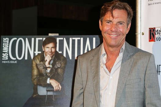 Film star Dennis Quaid was born in Houston, and attended Bellaire High School and the University of Houston. Photo: Chelsea Lauren, WireImage / 2012 Chelsea Lauren