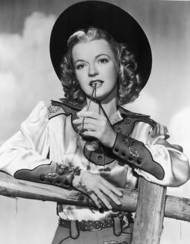 Actor and singer Dale Evans Photo: Hulton Archive, Getty Images / Archive Photos