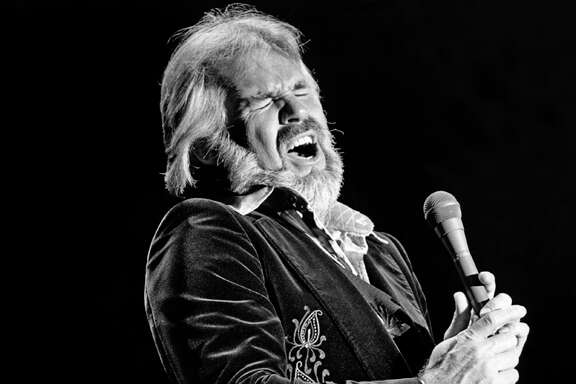 Singer and actor Kenny Rogers