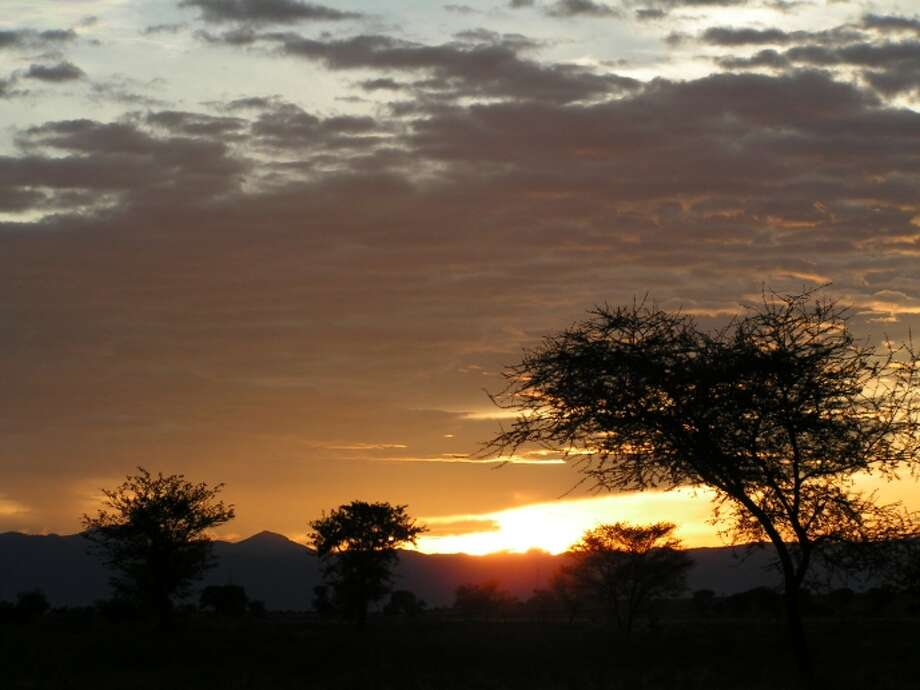 Go on an African safari and transverse the Serengetti Plains in Tanzania with your spouse.