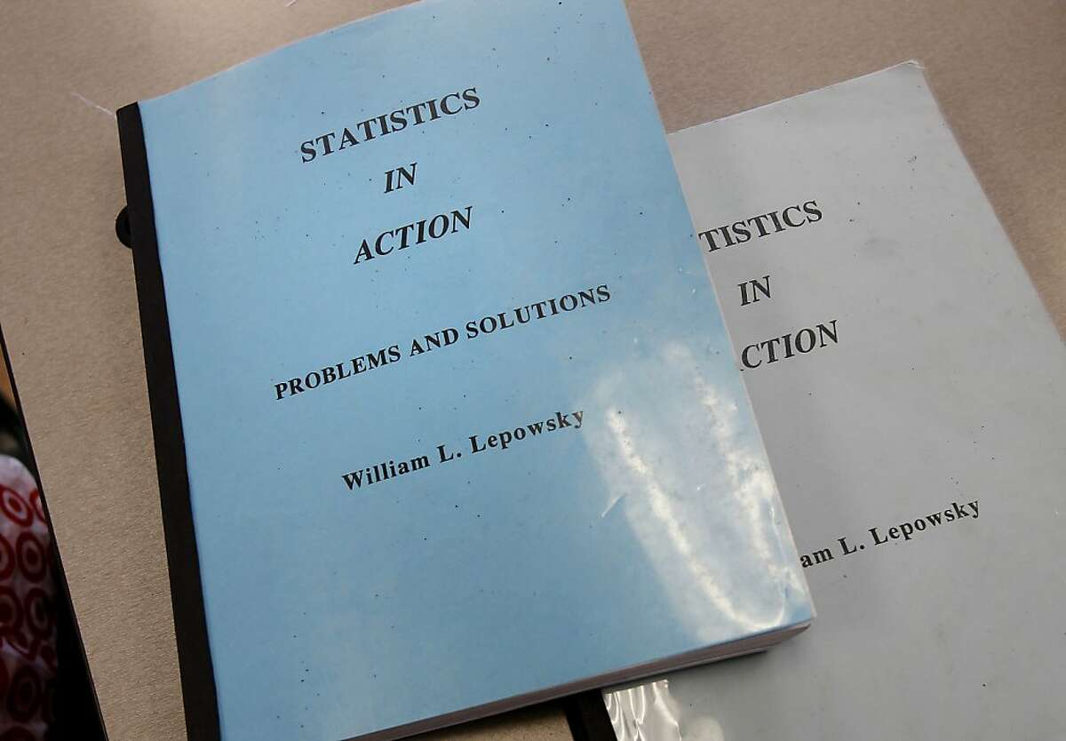 William Lepowsky published his own textbook for his statistics class Tuesday November 5, 2013, one of the reasons he was bullied and hassled. William Lepowsky, a professor at Laney College in Oakland, Calif., was bullied at work for four years by another staff member.