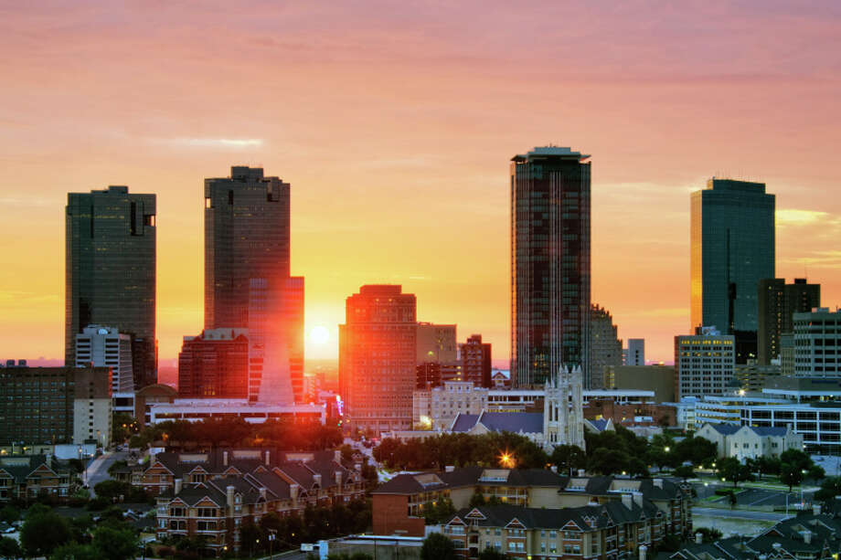 """4. Fort Worth, Texas:Republican and religious. It's home to Texas Christian University and the """"Fifth Most Bible-Minded Large City.""""  Photo: Jeremy Woodhouse, Getty Images / (c) Jeremy Woodhouse"""
