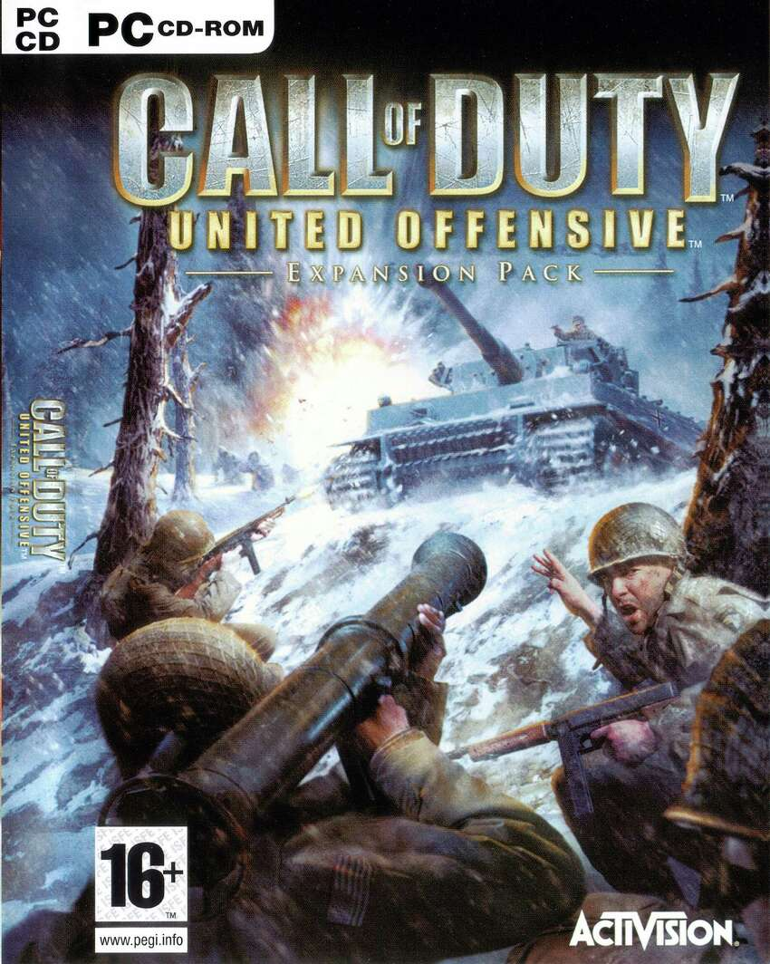 Call of Duty: United Offensive Publisher: Activision Developer: Gray Matter Interactive Release: Sept. 14, 2004 Platforms: MAC and PC Engine: Quake III: Team Arena