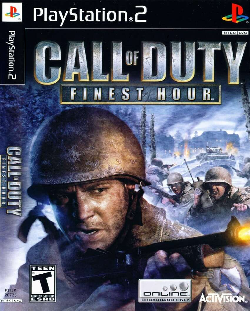 Call of Duty: Finest Hour Publisher: Activision Developer: Spark Unlimited Release: Nov. 16, 2004 Platforms: Nintendo GameCube, PlayStation 2 and Xbox Engine: RenderWare