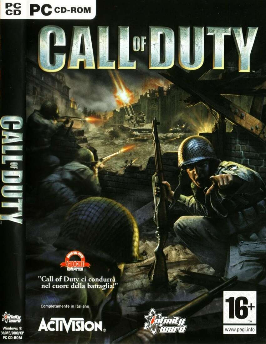 Call of Duty Publisher: Activision Developer: Infinity Ward Release: 2003 Platforms: MAC and PC Engine: id Tech 3
