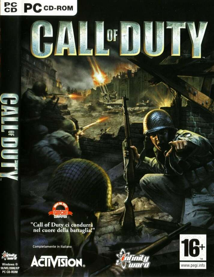 Call of DutyPublisher: Activision  Developer: Infinity Ward  Release: 2003 Platforms: MAC and PC Engine: id Tech 3  Photo: Courtesy Activision