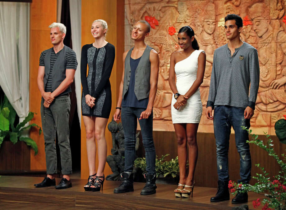"America's Next Top Model -- ""The Girl Who Gets Kissed on an Elephant"" pictured left to right: Chris H., Jourdan, Cory, Renee and Marvin Cycle 20 Photo: Angelo Sgambati/The CW ©2013 The CW Network, LLC. All Rights Reserved Photo: Angelo Sgambati, The CW / ©2013 The CW Network, LLC. All Rights Reserved"
