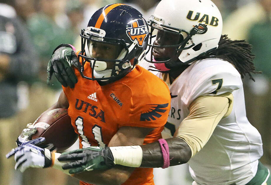 David Glasco II, shown against UAB, is coming off a school-record 135-yard, 21-carry effort at Tulsa. Photo: Tom Reel / San Antonio Express-News