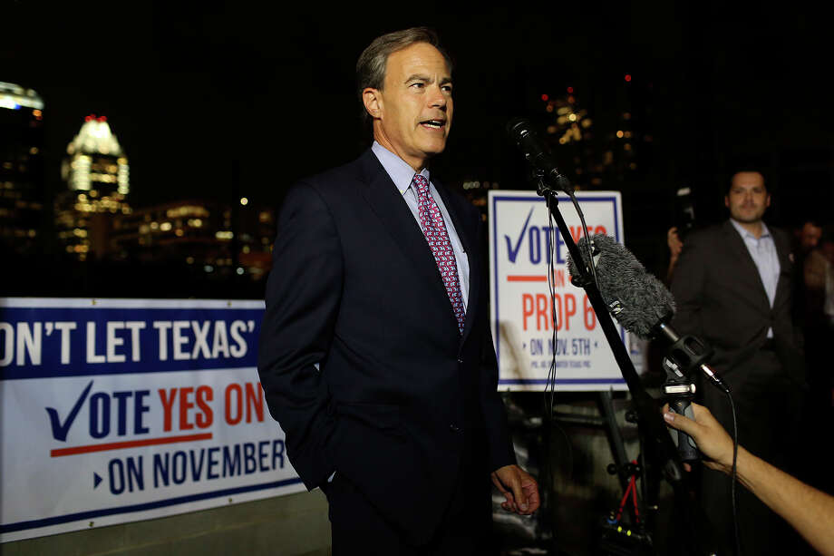 Joe Straus of San Antonio, speaker of the Texas House, led the successful campaign to win voter approval of Prop. 6. Photo: Lisa Krantz, San Antonio Express-News / San Antonio Express-News
