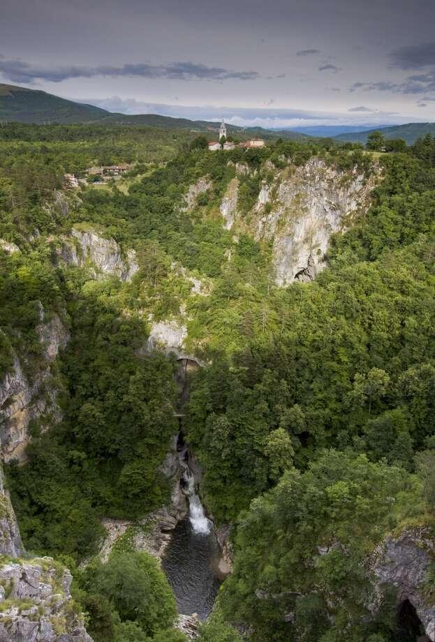 5.Skocjan Caves, Goriska, Slovenia Photo: Lizzie Shepherd, Getty Images/Robert Harding World Imagery