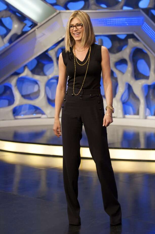 Actress Jennifer Aniston attends 'El Hormiguero' Tv showon February 22, 2011 in Madrid, Spain. Photo: Juan Naharro Gimenez, Getty Images