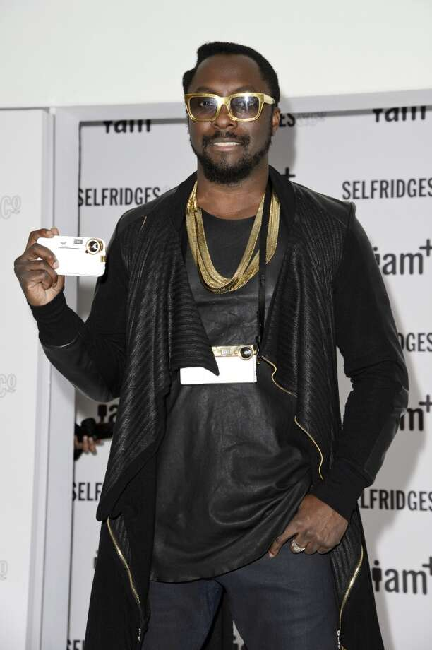Will.i.am attends a photocall to launch his range of i.am+ camera accessories for the iPhone at the Fashion Retail Academy on November 28, 2012 in London, England. Photo: Ben Pruchnie, Getty Images