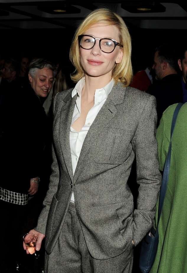 Cast member and Co-artistic director of the Sydney Theatre Company Cate Blanchett attends an after party celebrating the press night performance of the Sydney Theatre Company's production of 'Big and Small (Gross und Klein)' at the Barbican Centre on April 14, 2012 in London, England. Photo: Dave M. Benett, Getty Images