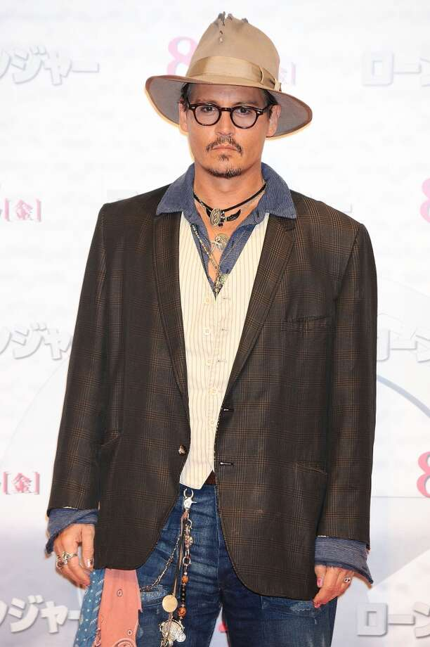 Johnny Depp attends 'The Lone Ranger' photo call at the Park Hyatt Hotel on July 17, 2013 in Tokyo, Japan. Photo: Jun Sato, WireImage