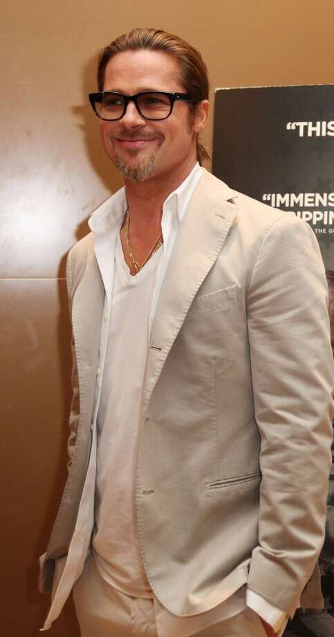 "Brad Pitt attends screening of ""Killing Them Softly"" at The Mayfair Hotel on September 6, 2012 in London, England. Photo: Gareth Davies, Getty Images"