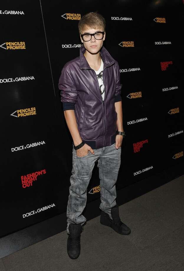 Justin Bieber attends the Dolce & Gabbana Boutique on September 8, 2011 in New York City. Photo: Eugene Gologursky, Getty Images For Dolce & Gabbana