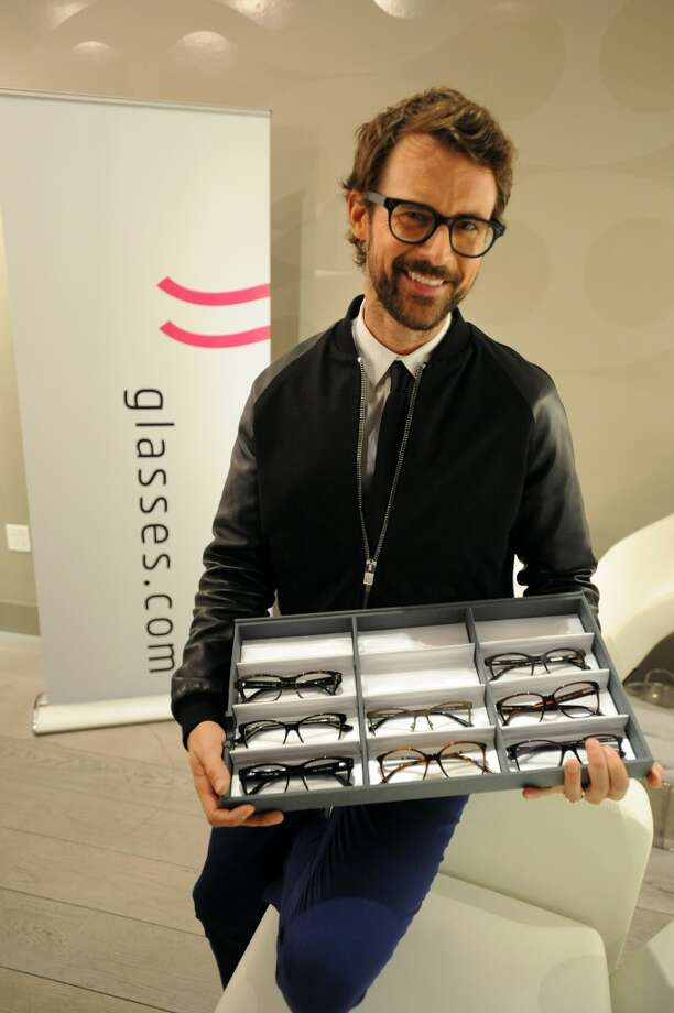 """Glasses.com and stylist Brad Goreski pair eyewear with hair styles for """"A Better Way to Look"""" on September 19, 2013 in New York City. Photo: Brad Barket, Getty Images For Glasses.com"""