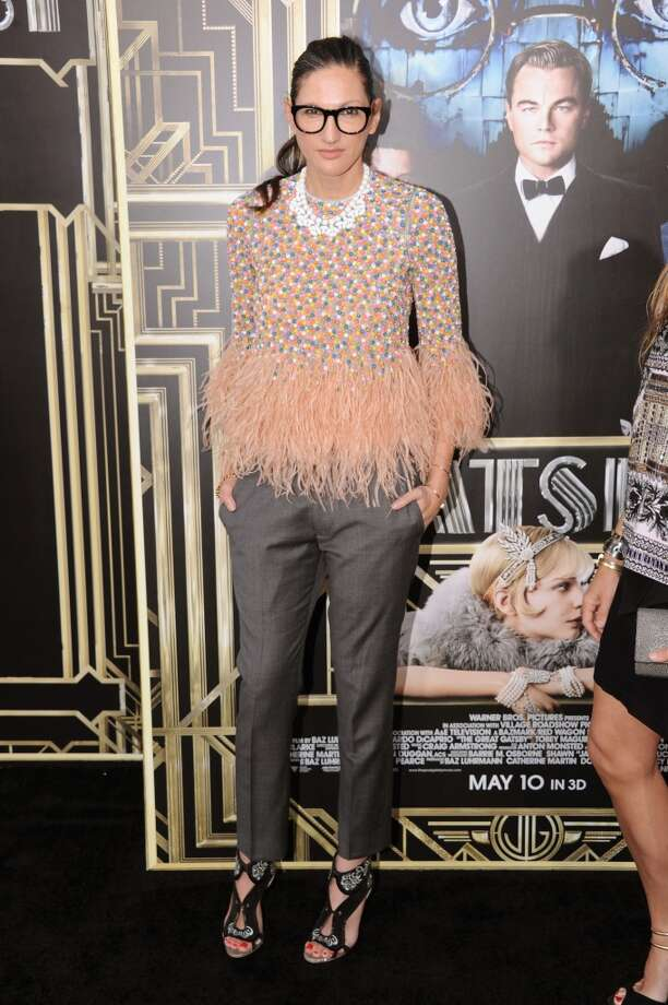"J.Crew executive creative director Jenna Lyons attends the ""The Great Gatsby"" world premiere at Avery Fisher Hall at Lincoln Center for the Performing Arts on May 1, 2013 in New York City. Photo: Jamie McCarthy, WireImage"