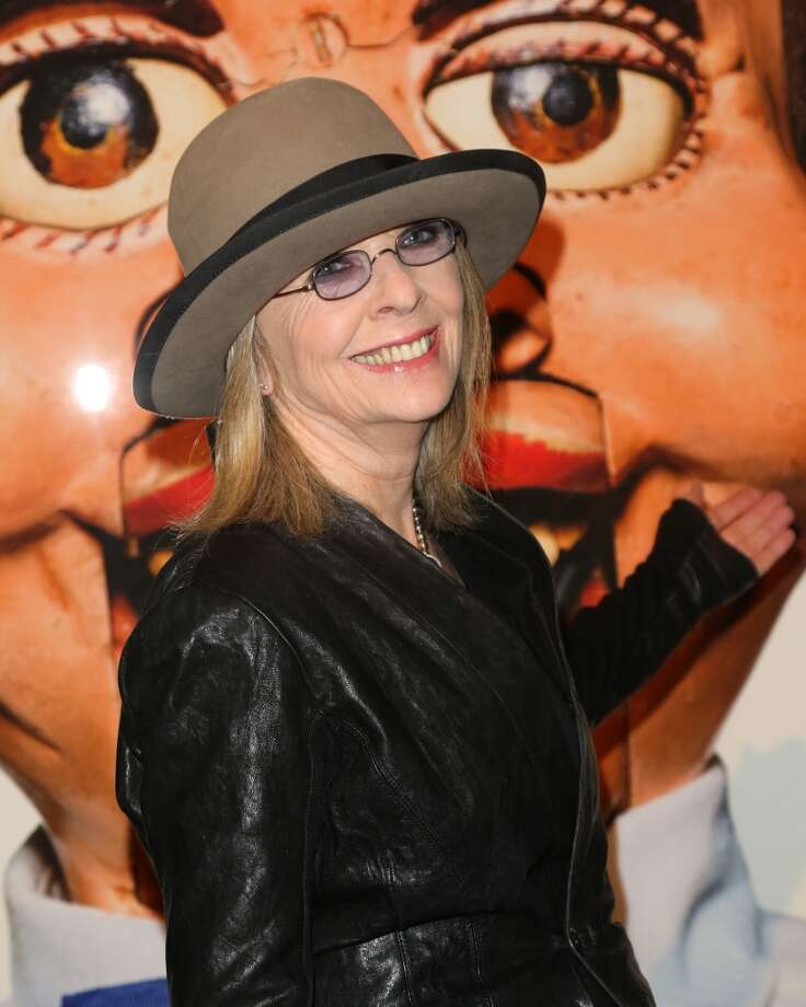 "Actress Diane Keaton attends a celebration for Matthew Rolston's new book ""Talking Heads, The Vent Haven Portraits"" on May 10, 2013 in Los Angeles, California. Photo: Paul Archuleta, FilmMagic"