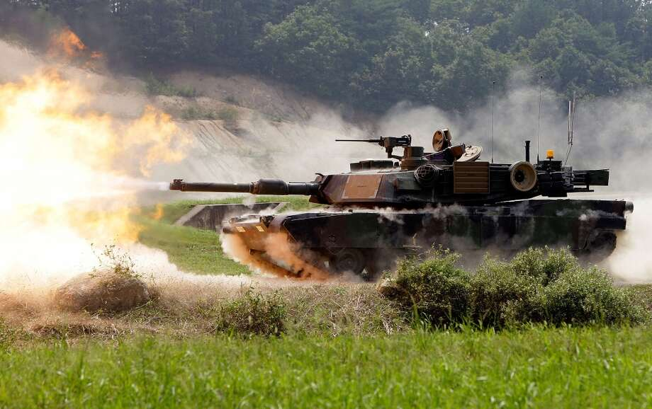 USA: M1A2 SEP Abrams battle tank Photo: Chung Sung-Jun, Getty Images