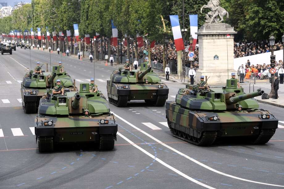 France: AMX-56 Leclerc battle tank Photo: BERTRAND GUAY, AFP/Getty Images