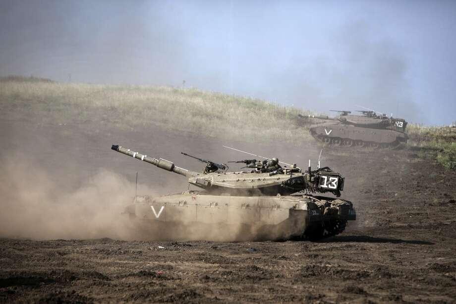 Israel:Merkava Mark IV Photo: MENAHEM KAHANA, AFP/Getty Images