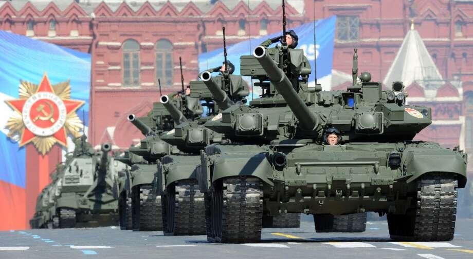 Russia:T-90 Photo: YURI KADOBNOV, AFP/Getty Images