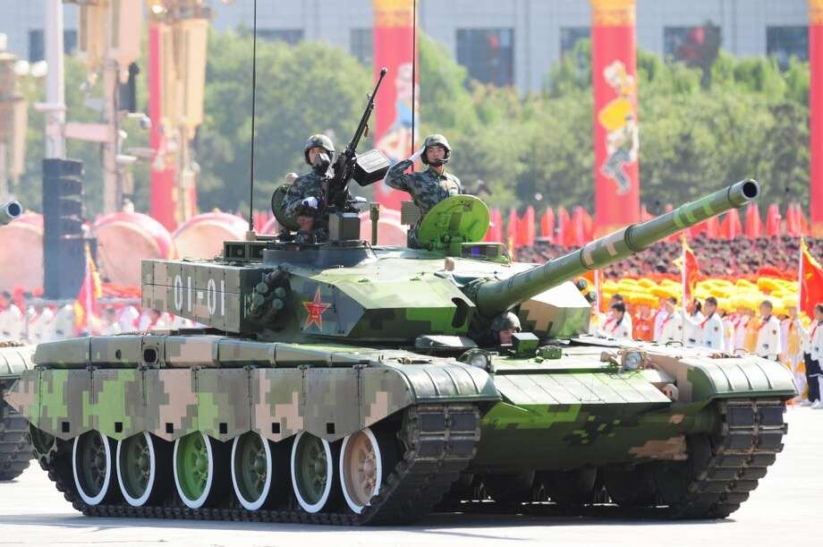 China: Type-99 battle tank Photo: FREDERIC J. BROWN, AFP/Getty Images
