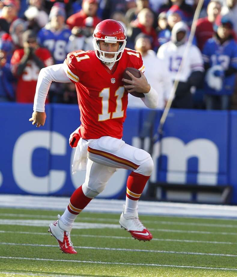 1. Chiefs (8-0) Last week: 1The Chiefs still haven't allowed an opponent to score more than 17 points, and their defense scored two touchdowns in the win over Buffalo. Photo: Bill Wippert, Associated Press