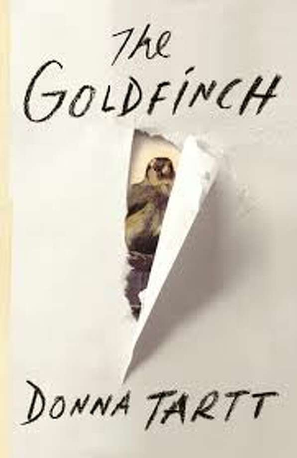 "The Goldfinch - Donna Tartt  ""Composed with the skills of a master, The Goldfinch is a haunted odyssey through present day America and a drama of enthralling force and acuity. It combines unforgettably vivid characters, mesmerizing language, and breathtaking suspense, while plumbing with a philosopher's calm the deepest mysteries of love, identity, and art. It is a beautiful, stay-up-all-night and tell-all-your-friends triumph, an old-fashioned story of loss and obsession, survival and self-invention, and the ruthless machinations of fate."" iBooks Description"