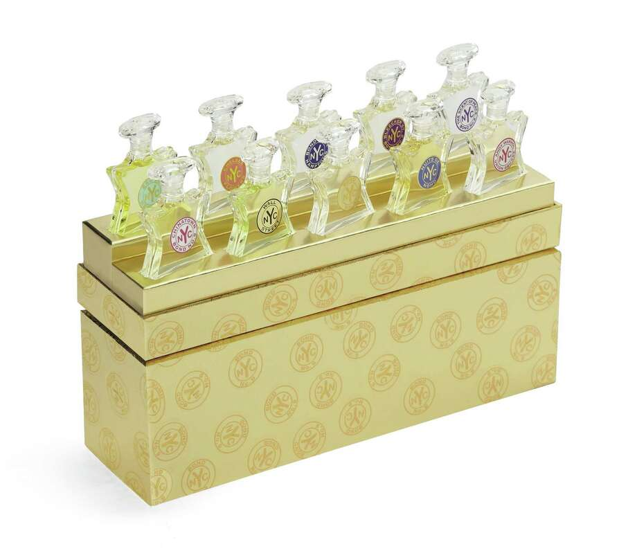 BOND No. 9 NEW YORK Wardrobe of ten flaconettes containing a best selling eau de parfum, $250. Photo: Courtesy Of Saks Fifth Avenue