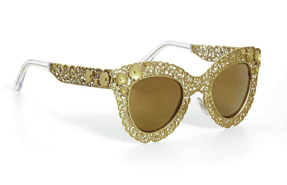 DOLCE & GABBANA Filigrana sunglasses, $490. Photo: Courtesy Of Saks Fifth Avenue
