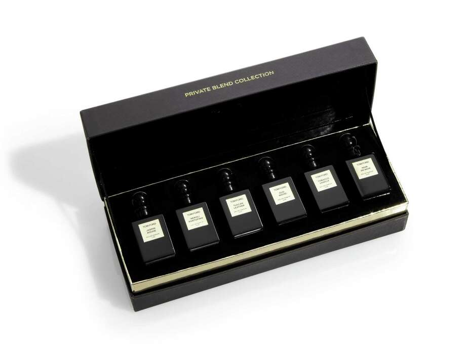 TOM FORD Private blend collection set of mini fragrances, $325. Photo: Courtesy Of Saks Fifth Avenue