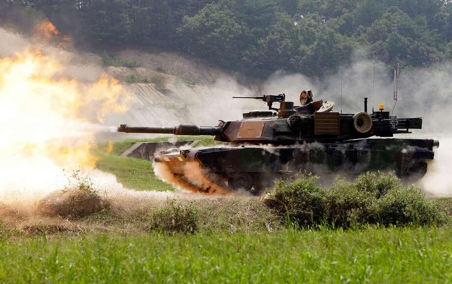 USA: M1A2 SEP Abrams battle tank Photo: Chung Sung-Jun, Getty Images