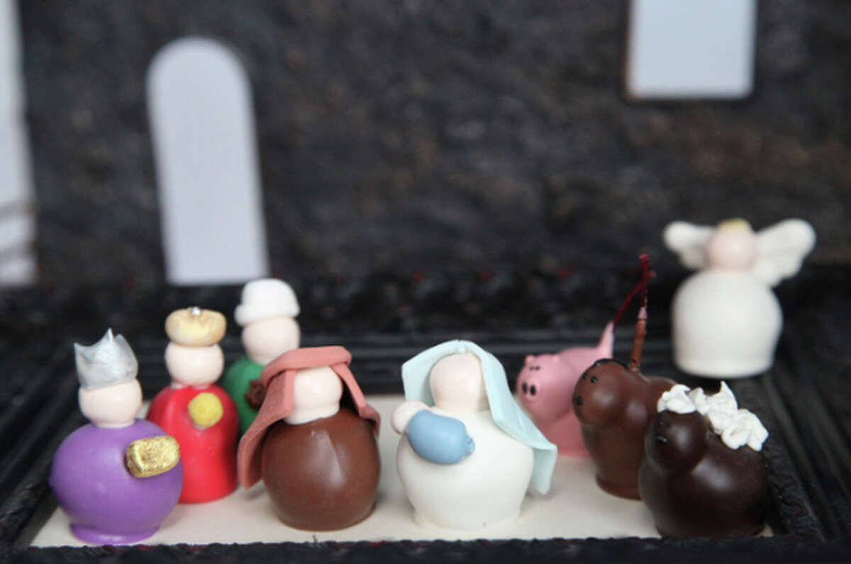 Chocolate Nativity Scene Oprah says: