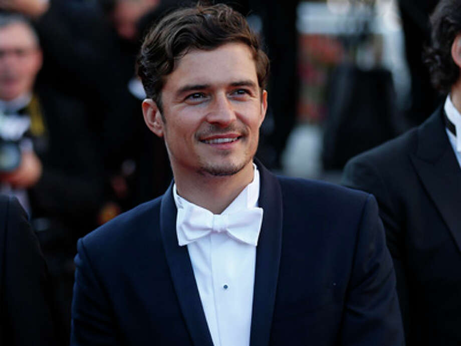 Actor Orlando Bloom, whose most notable works include the 'Pirates of the Caribbean' movies.  Photo: EasonTSang, Xiao Dudu Hz - Imaginechina / Imaginechina