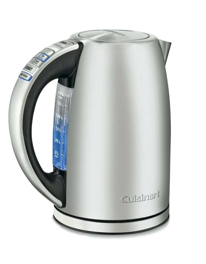 """PerfecTemp Cordless Electric KettleOprah says: """"I keep this electric kettle in my office so I can brew the perfect cup anytime.""""I say: If you believe Oprah prepares her own hot beverages at work, I've got some land to sell you in Florida.Read more at Oprah.com"""