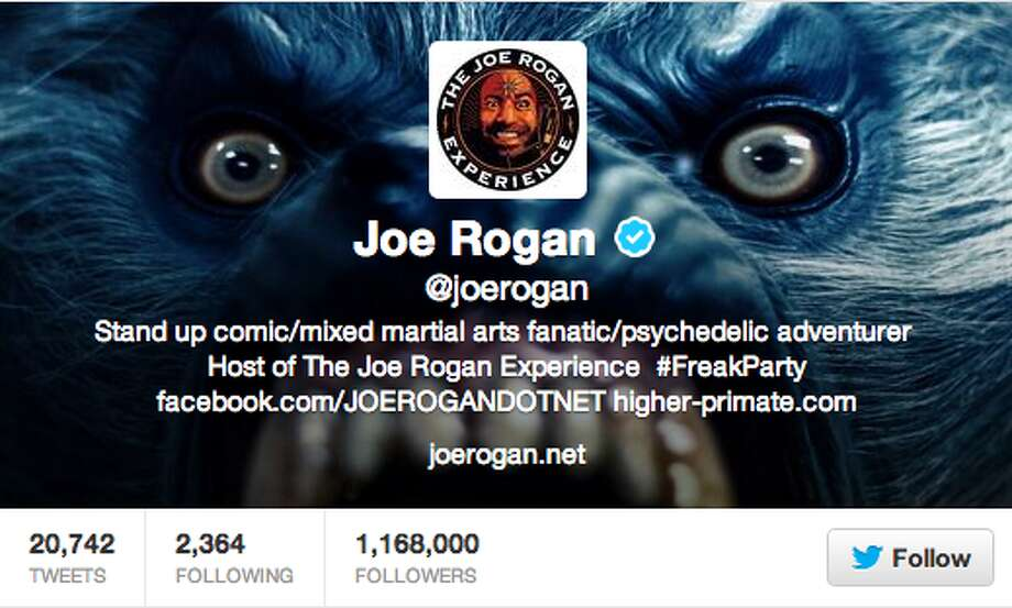 Comedian and announcer for UFC. Vocal supporter of marijuana and psychedelic substances.