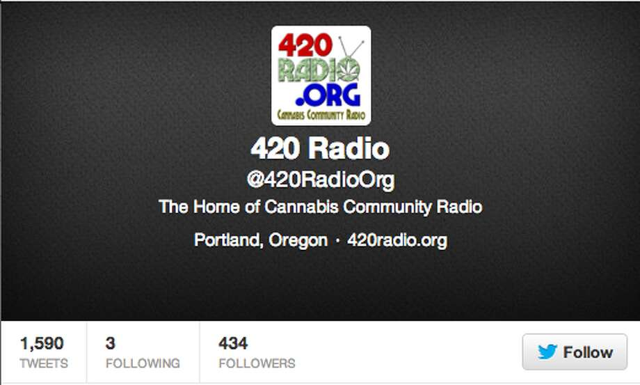 Like NPR for people who smoke weed. Check their tweets for new episodes of news, music, and talk show programs.