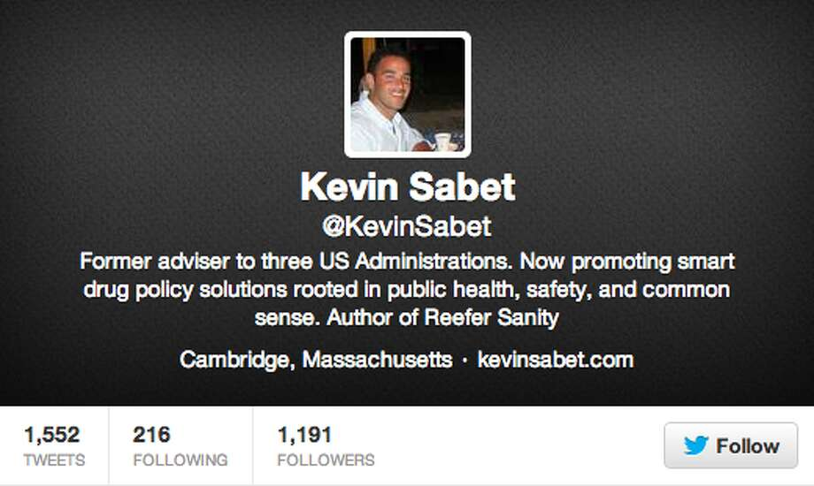 It's good to know your enemy, and Kevin Sabet is one of them. Anti-marijuana lobbyist and drug war supporter, read Sabet's tweets for ridiculous lies and prohibition propaganda.