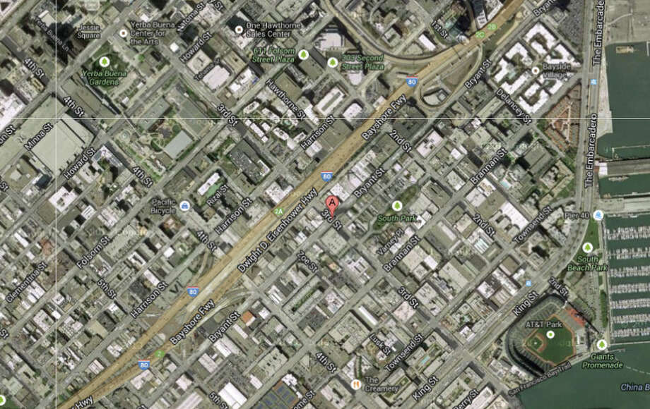 Bryant and 3rd Street, San Francisco, CA Photo: Google Maps