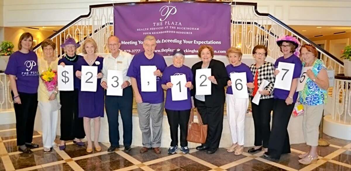 Residents and staff of The Buckingham raised more than $23,000 by participating in the 2013 Walk to End Alzheimer?'s.