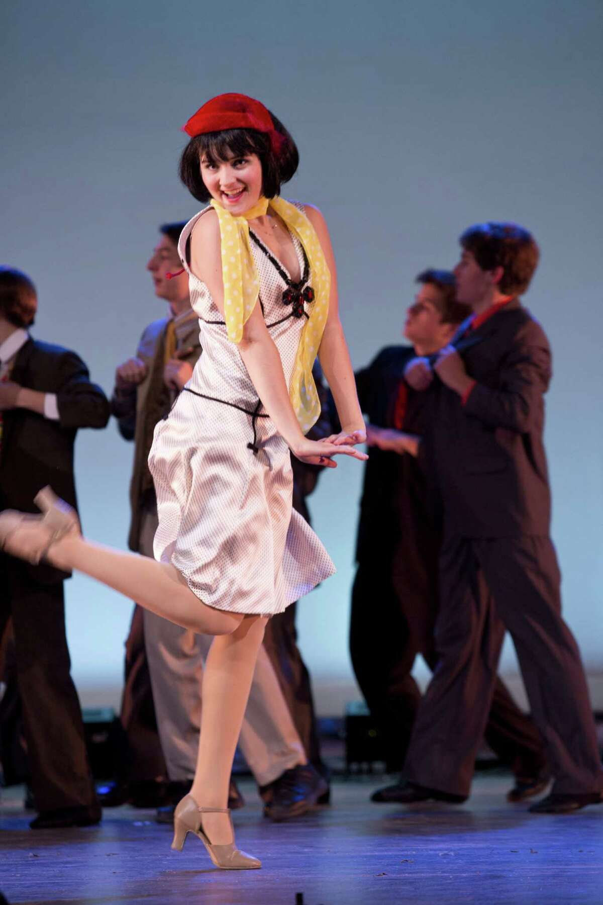 """Amanda Horowitz is one of the two actresses playing Millie in Staples High School's production of the musical """"Thoroughly Modern Millie."""" Performances are planned Nov. 15, 16, 22 and 23 at 7:30 p.m. A matinee Nov. 23 is at 2 p.m."""