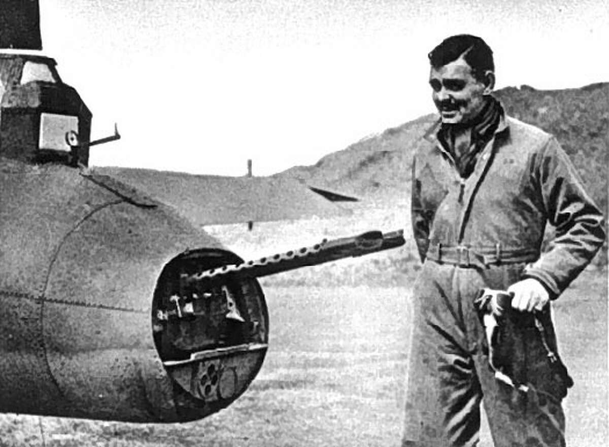 Clark Gable - (U.S. Air Force 1942-44) The silver screen legend served as a gunnery instructor with the Air Force. www.military.com