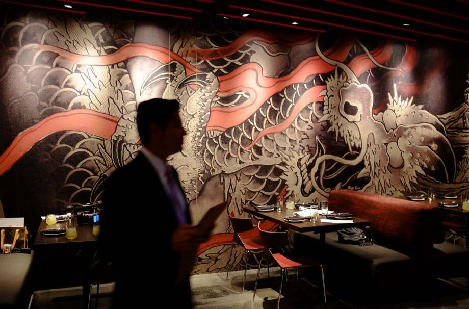 A mural on a wall of the M.Y. China restaurant at the Graton Resort and Casino in Rohnert Park. Photo: Eric Risberg, Associated Press