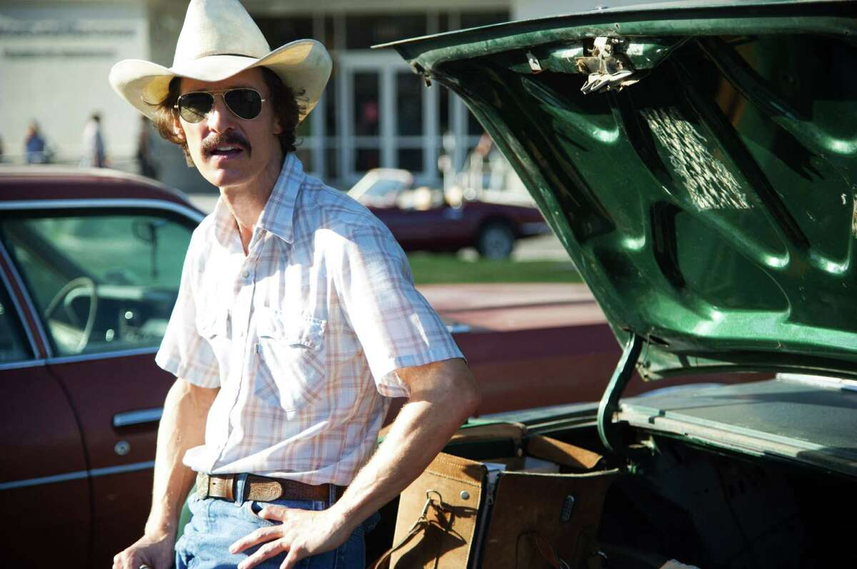 """Matthew McConaughey plays AIDS patient and activist Ron Woodroof in """"Dallas Buyers Club."""""""
