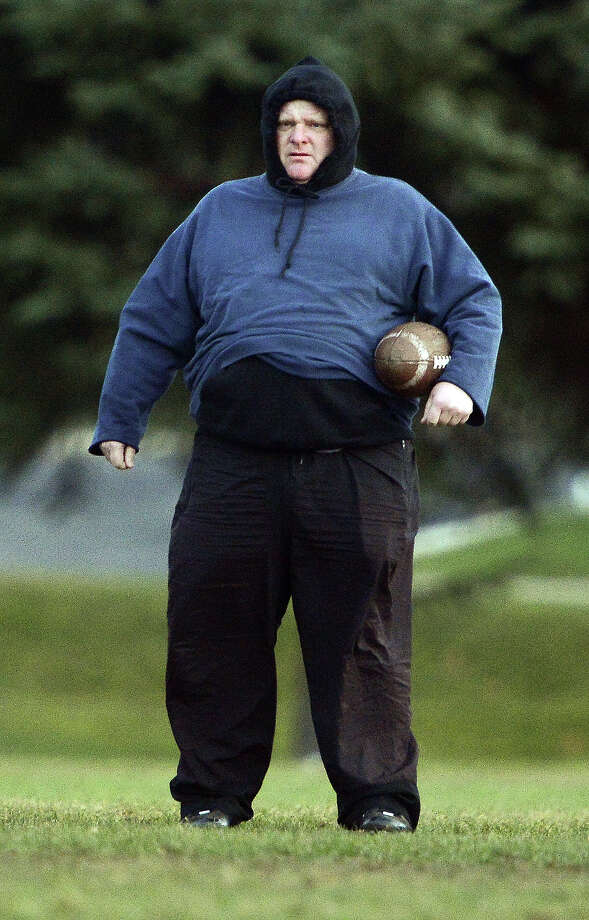 Rob Ford holding a football. Photo: Richard Lautens, Richard Lautens/Getty Images / 2012 Toronto Star